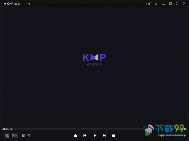 KMPlayer V4.1.5.8正式版主界面